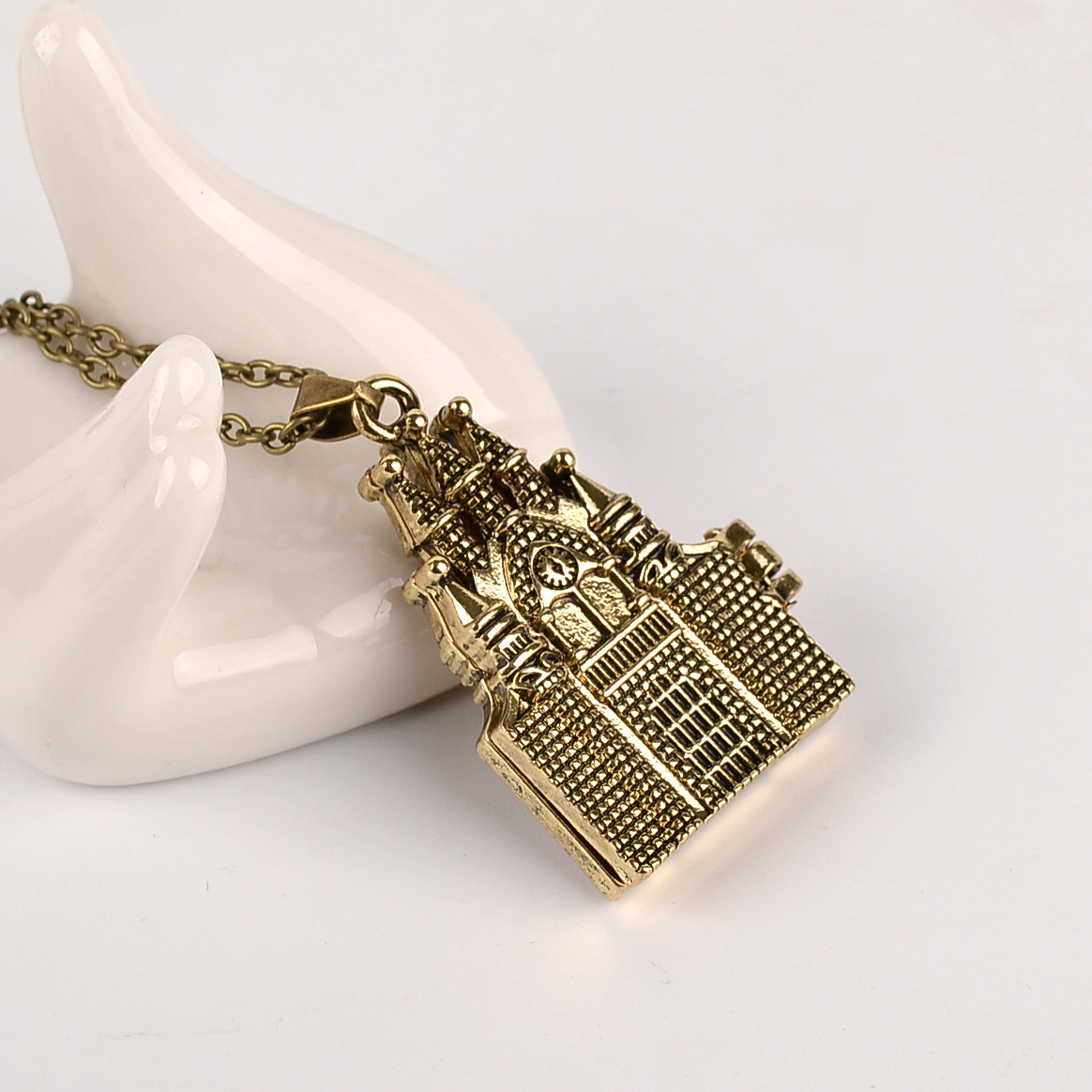 popular castle necklace-buy cheap castle necklace lots from china