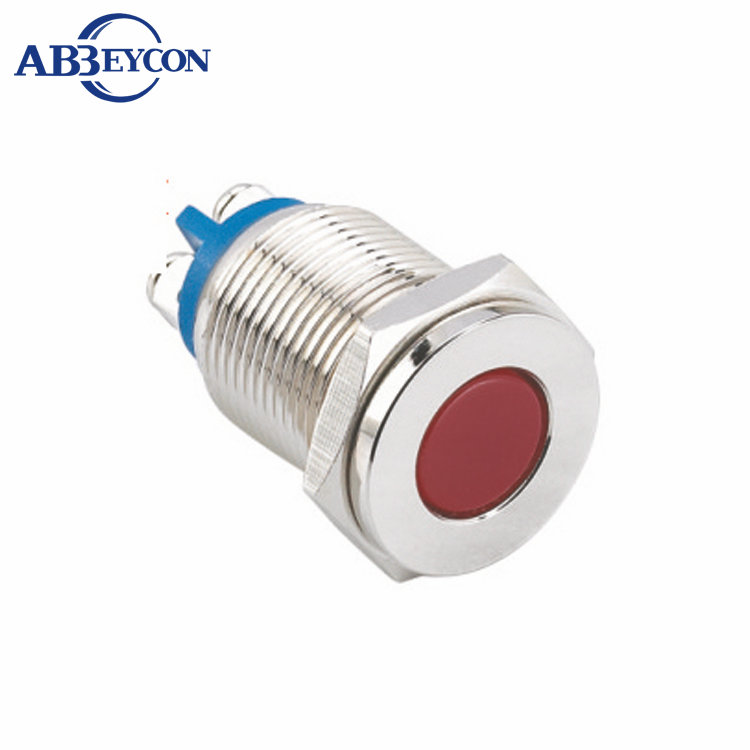 In85 16mm 110v Yellow Led Indicator Light Wiring Terminal
