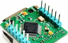 5PCSFor arduino W5500 USR-ES1 Chip New SPI to LAN/ Ethernet Converter TCP/IP Mod