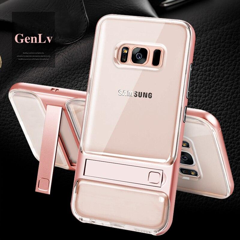 Galleria fotografica For Coque Samsung Note 9 Case Samsung Galaxy S8 S9 Plus Note9 Case S8Plus Hybrid Silicon PC Cover For Funda Samsung S9Plus Cases