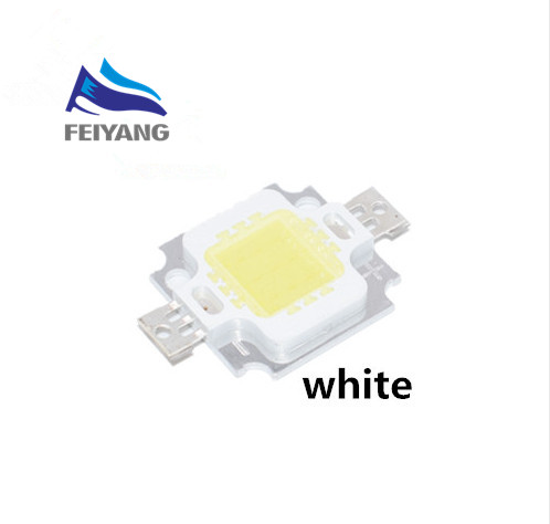 Diodes Electronic Components & Supplies Cheap Sale 100pcs 10w White/warm White/red/green/blue/yellow Led Chip 10w Lamp Beads 10w Chip Led 10w Led Chip Integrated High Power