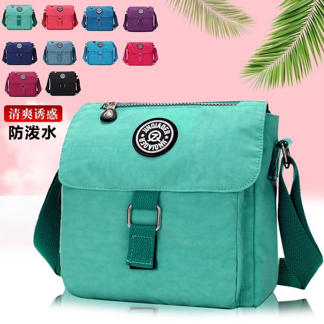f5553568d2 2017 New Fashion Women Messenger Bag Shoulder Diagonal Handbag Waterproof  Nylon Bag Manufacturers Wholesale