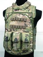 Multi Function Four In One Combat Vest CS Equitment Tan Color Tactical Vest