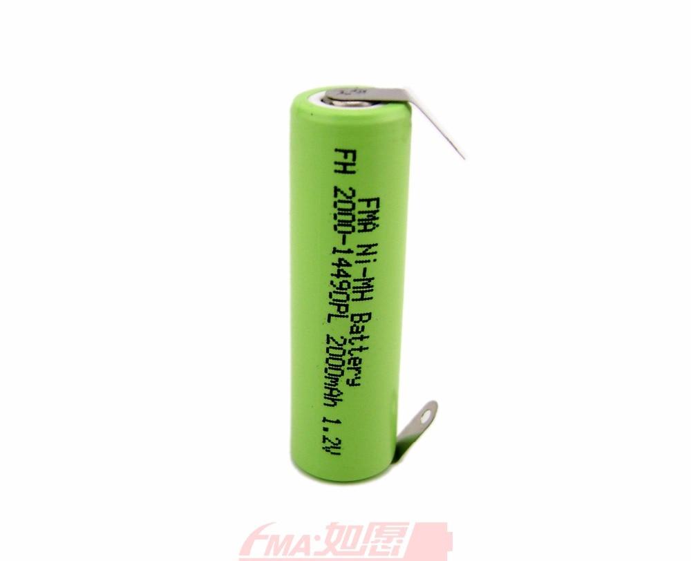 AKKU 2500mAh 1,2V Ni-MH für Braun Sonic Complete TriZone Vitality
