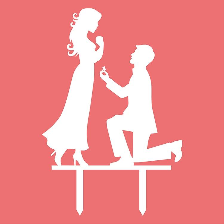 아크릴 미스터 & 부인 신부 신랑 웨딩 케이크 깃발 토퍼 결혼식 기념일 파티 뜨거운 판매 블랙 화이트 골드 실버 케이크 플래그
