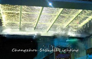 GREAT!Festival lighting christmas bulb yard decoration celebration product 4*4m LED star lamp H182