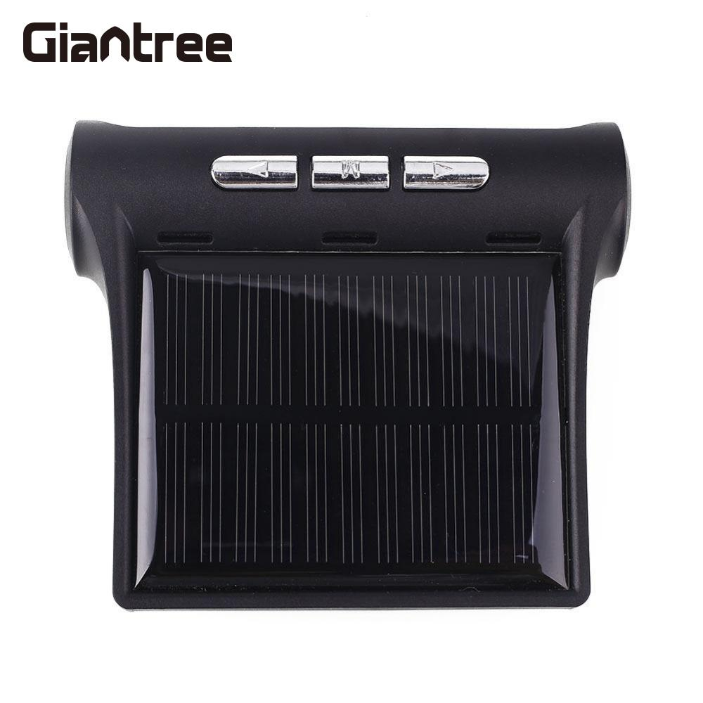 giantree External Car Automotive Tire Pressure Monitoring System TPMS Solar Energy Alarm Abnormal car alarm yingshijie smart car tpms tire pressure alarm monitoring system solar charging external sensor car safety alarm system