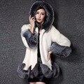 Luxury Winter Long Sleeve Women Faux Fur Coat Jacket Parka Female Outerwear Overcoat Warm Anorak Suit Clothing Manteau Femme