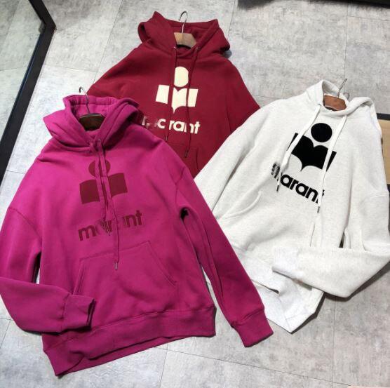 2019 Autumn Winter Sweatershirt Women s Hoodies 100 Cotton Thick Velvet Pullover Solid Loose Long Sweatshirts