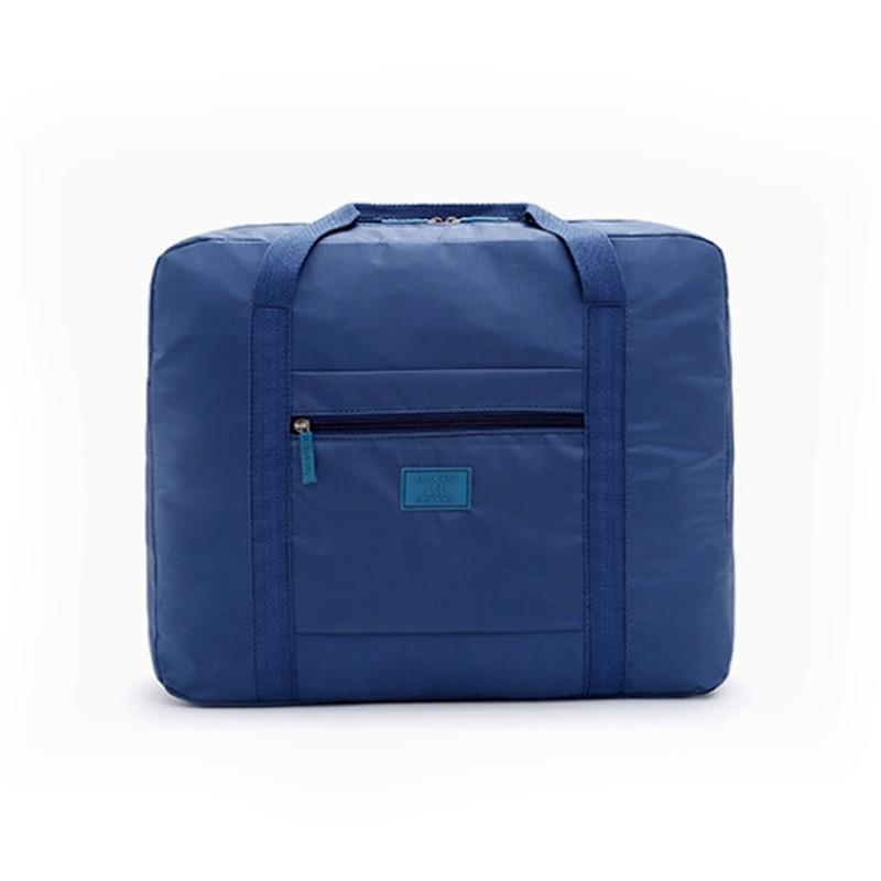 Mulheres Homens Moda de Alta Qualidade Dobrável Saco de Viagem Nylon Bagagem de Mão de Grande Capacidade Duffle Saco bolsos mujer de viaje durante a noite