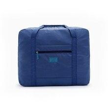 921b990f0c3 Vrouwen Hoge Kwaliteit Opvouwbare Reistas Nylon Hand Bagage Mannen Mode  Grote Capaciteit Duffle weekendtas bolsos de