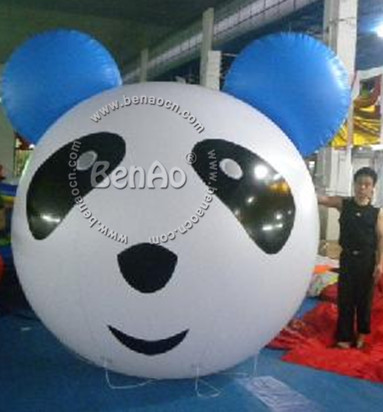 AO041 Inflatable advertising helium balloon Inflatable Panda Balloon Inflatable coloured Drawing or Pattern ballon for events