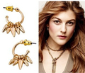 European fashion jewelry S-D-J  RENEGADE MINI CLUSTER HOOPS EARRINGS -Free Shipping