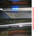 LED Car Door Sill Scuff Plate For Toyota Land Cruiser Prado FJ 120 Accessories