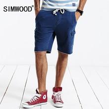 SIMWOOD марка 2016 Новый Повседневная бермуды хлопок шорты homme спортивные шорты мода masculina KW3006