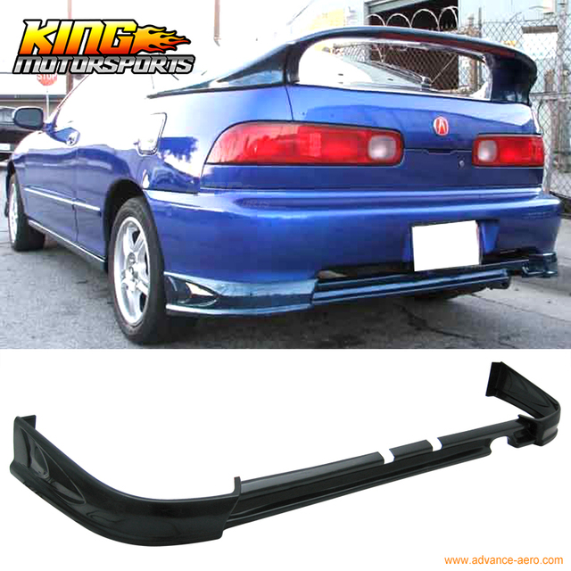 For Acura Integra Rear Bumper Lip Spoiler Bodykit ABSin - Acura integra spoiler