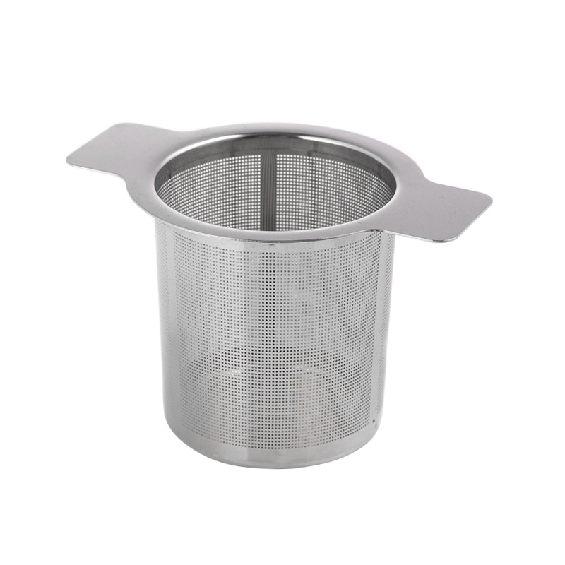 Stainless Steel Mesh Tea Infuser Cup Strainer Loose Leaf Filter with Lid WXV Sale in Tea Strainers from Home Garden
