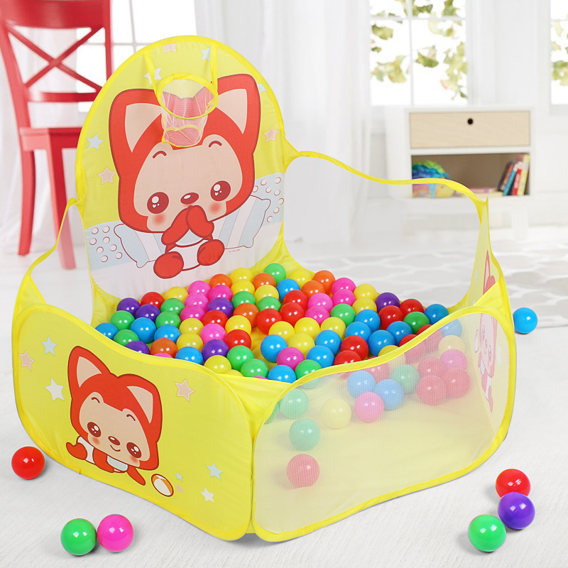 Play House Indoor and Outdoor Easy plegable Ocean Ball Pool Pit Game - Deportes y aire libre - foto 3