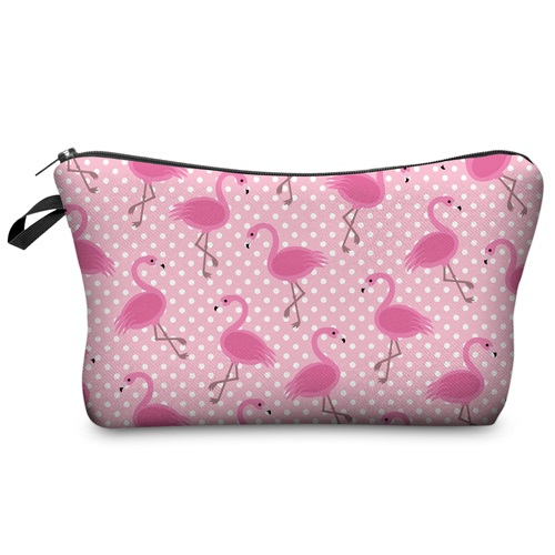 Jom Tokoy Fashion Brand cosmetic organizer bag  Heat Transfer Printing Women Travel Makeup bag Portable Cosmetic Bag kosmetyczka