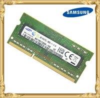 Samsung DDR3 4 GB 1600 MHz PC3 PC3L-12800S Laptop notebook memoria RAM 12800 4G