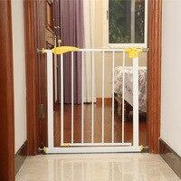 Автоматическое восстановление младенческой и ребенок ворота безопасности собака Йоркширский терьер забор Французский бульдог изоляции б