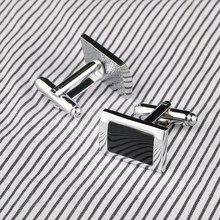 Trendy Vintage Silver Plated Cufflinks