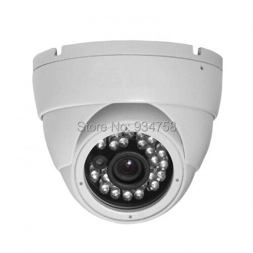 1.0MP 720P CCTV Security AHD HD 24IR 4mm Vandalproof Dome Camera free shipping hot selling 720p 20m ir range plastic ir dome hd ahd camera wholesale and retail