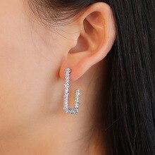 цены HOMOD 2019 Vintage Earrings Large for Women Statement Earrings Geometric Golden Color Metal Pendant Earrings Trend Jewelry