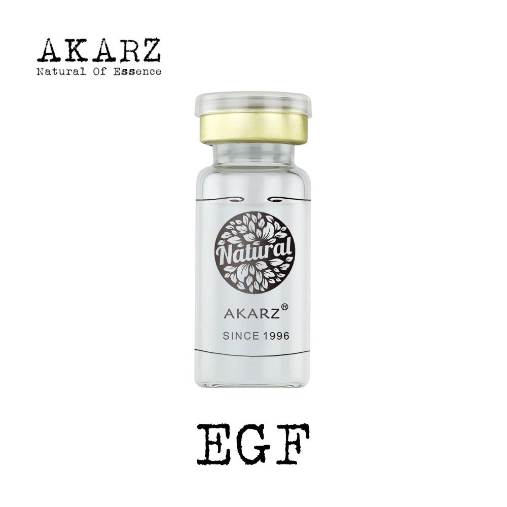 AKARZ Esencia de extracto de suero de la cara EGF natural de la marca famosa de la piel para restaurar la elasticidad de los productos de cuidado de la piel de la cara