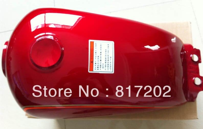 NUEVO TANQUE DE COMBUSTIBLE GN250 GN 250 (PETROL GAS) OEM, ROJO con - Accesorios y repuestos para motocicletas - foto 3