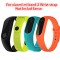Newest Xiaomi Mi Band 2 Strap MiBand 2 Wristbands Silicone Mi Band 2 Smart Bracelet 4 Color Replace Accessories Xiao Mi Band