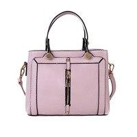 High Quality Women Shouder Bags Handbags Female Solid PU Leather Messenger Bag Small Nylon Purse Sac A Main Bolsas Feminina