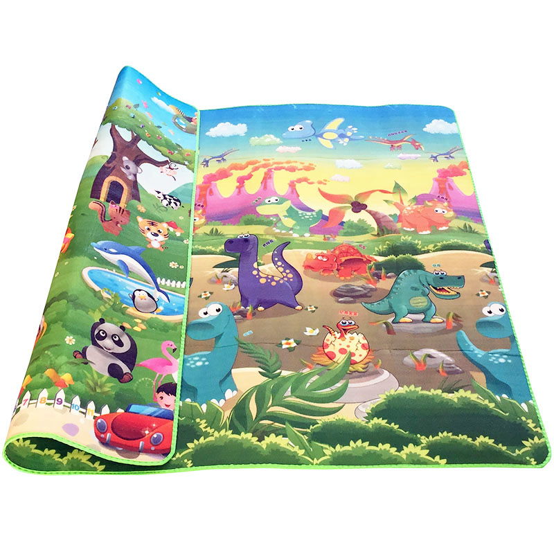 HTB15qZYbEGF3KVjSZFvq6z nXXaE 0.5cm Double-Side Baby Crawling Play Mat Dinosaur Puzzle Game Gym Soft Floor Eva Foam Children Carpet for Babies KidsToys
