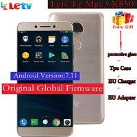 Original Letv LeEco Le Max 2 X820 Max 3 X850 FDD 4G Cell Phone 4 6GB