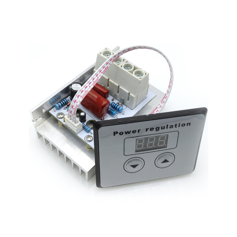 10000W Thyristor Super High Power Electronic Digital Regulator Dimming Speed Regulation Temperature Regulation for Barbecue