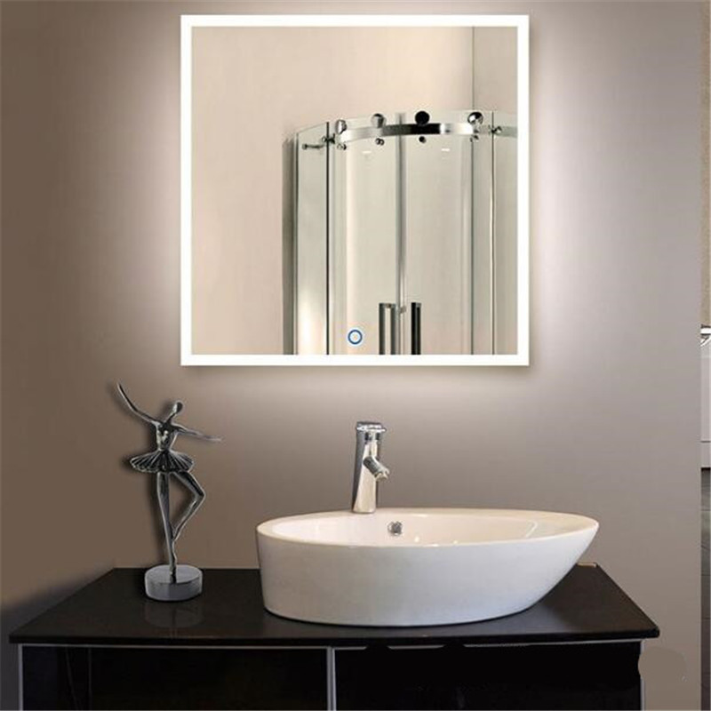 Waterproof Bathroom Light Switch: 60*60/60*80cm High End Waterproof Led Light Mirror With