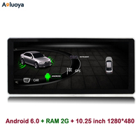 Aoluoya 10 25 IPS 2GB RAM Android 6 0 CAR Radio GPS Navigation For AUDI A4L