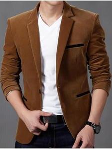 2019 Casual Slim Fit Stage Jacket Suits Velvet Blazer