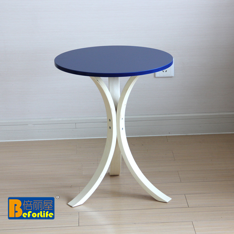 IKEA shipping small coffee table round wooden table telephone table