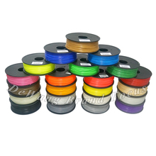 free shipping via ePacket 22 colors High Quality 1kg/roll  1.75/3mm ABS / PLA filament fit wiht all 3d pen& 3d printer