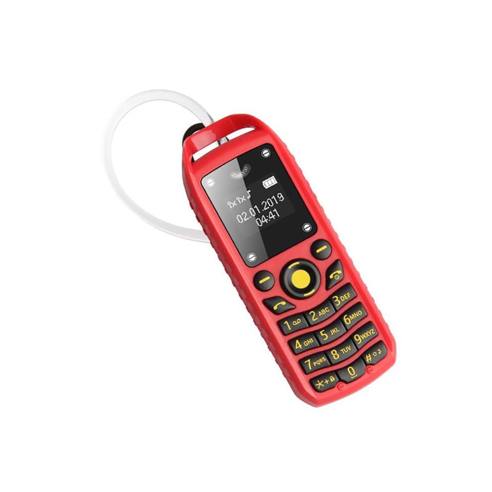 Image 4 - UNIWA B25 Unlocked Mobile Phone Super Mini Small 2G GSM Cellphone Bluetooth Wireless Earphone Kid 380mAh Battery Mobile PhoneCellphones   -