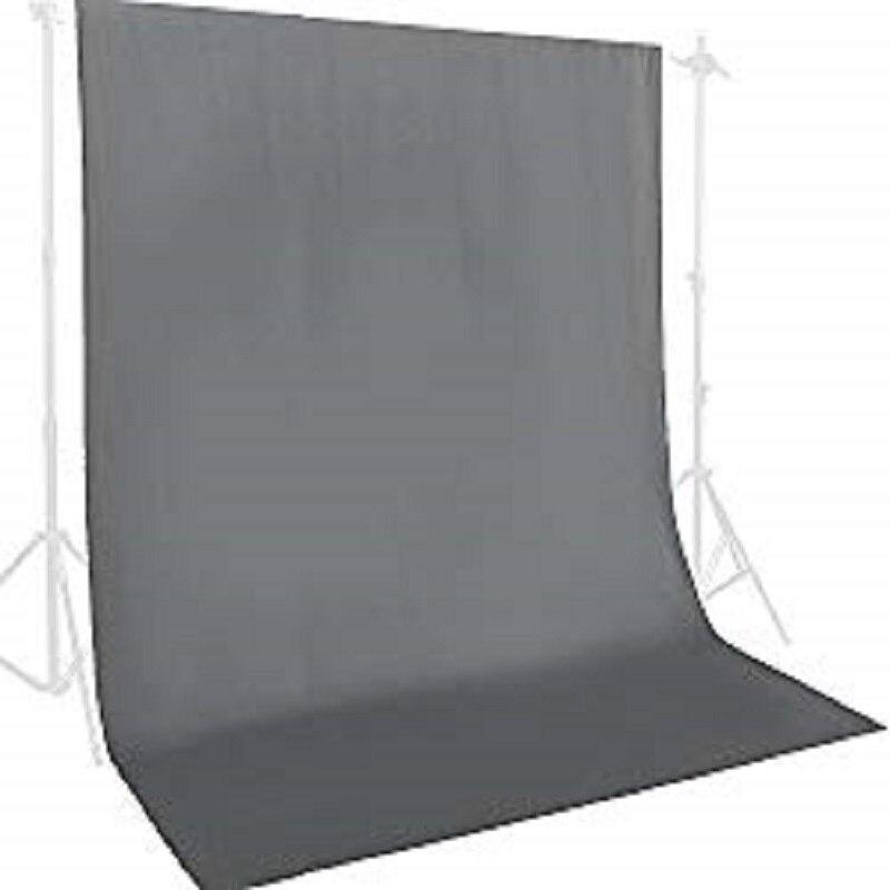 Fond de toile de fond photographique 2 m x 3 m tissu de coton sans couture gris bleu vert blanc noir brun rouge Studio de photographie