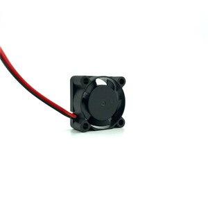 Image 2 - Refrigerador 2510 25x25x10mm silencioso 12 v 5 v 24 v usb manga/2 rolamento de esferas 2.5 cm mini ventilador de refrigeração para o ventilador da impressora do dissipador de calor do portátil 25mm 3d
