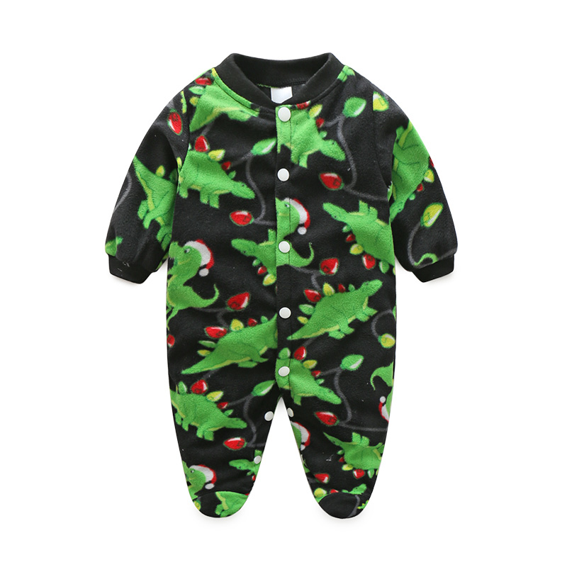 Winter Newborn Baby Clothes Animal One-Piece Baby Boy Clothes Long Sleeve Spring Baby Girls Rompers Infant Jumpsuit Clothing baby rompers newborn infant clothing 2016 brand baby boy girl long sleeve one piece romper bamboo leaves toddler jumpsuit