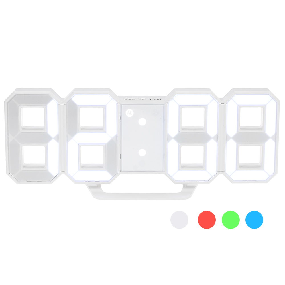 Multifunctional LED Digital Wall Clock 4