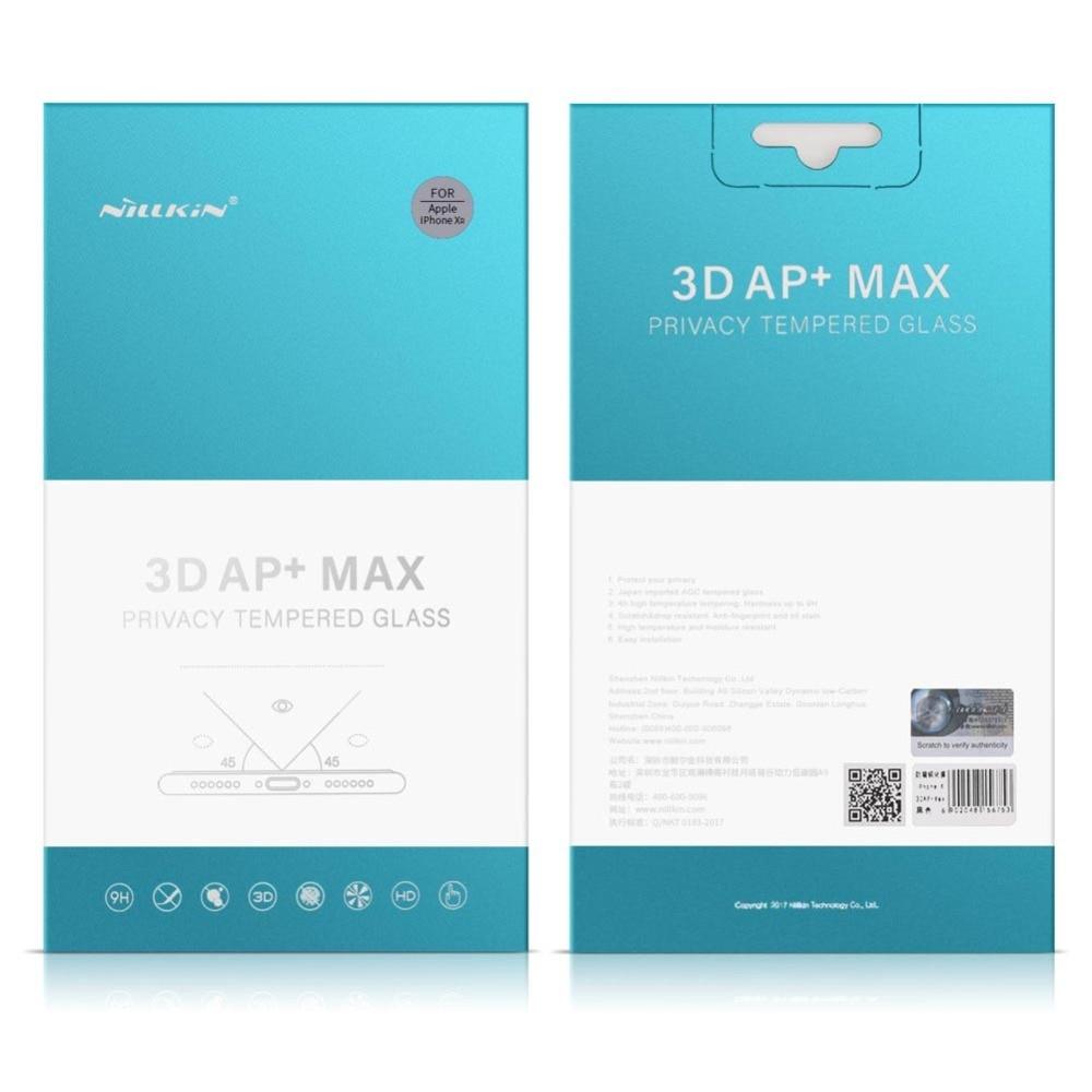 Nilkin για iPhone Xr Anti Spy Tempered Glass Nillkin 3D AP + Max - Ανταλλακτικά και αξεσουάρ κινητών τηλεφώνων - Φωτογραφία 6