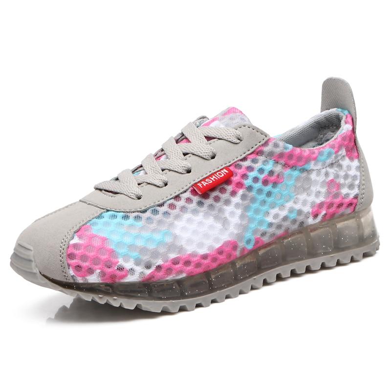 ФОТО  Fashion Women Casual Shoes, Cheap Walking Women's Flats Tenis Feminino Shoes Woman Platform Wedge Zapatillas Mujer
