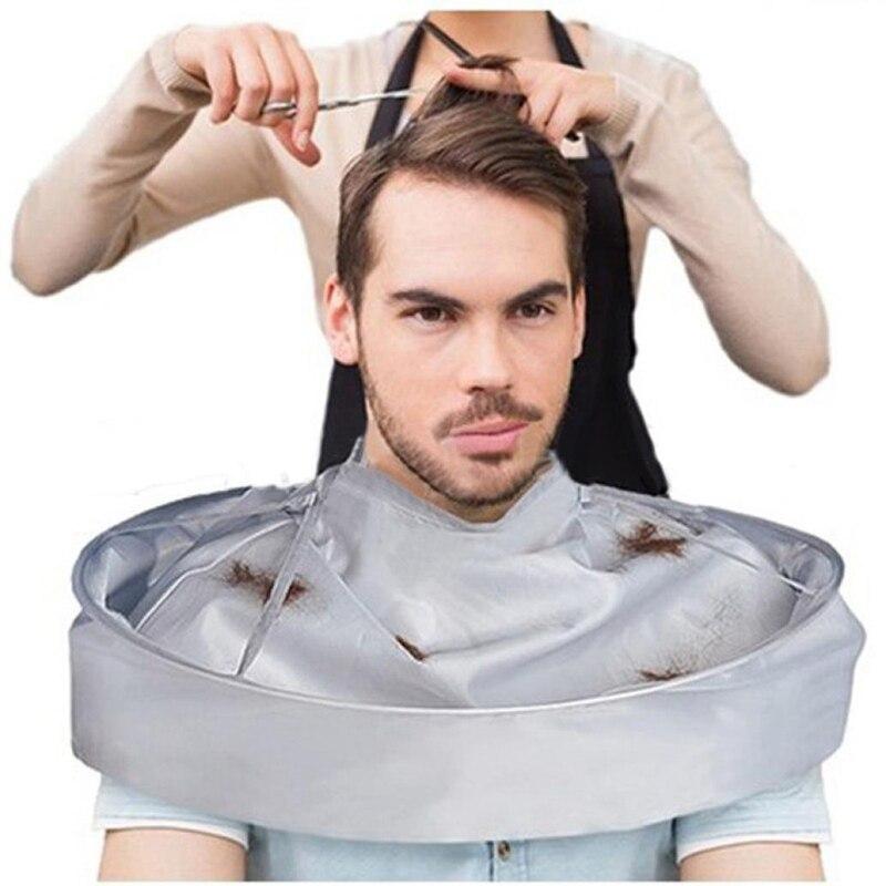 Brainbow 1PC Foldable Barber Cloak DIY Hair Cutting Waterproof Cloak Umbrella Cape Salon Barber Salon Clothes Apron For Haircut