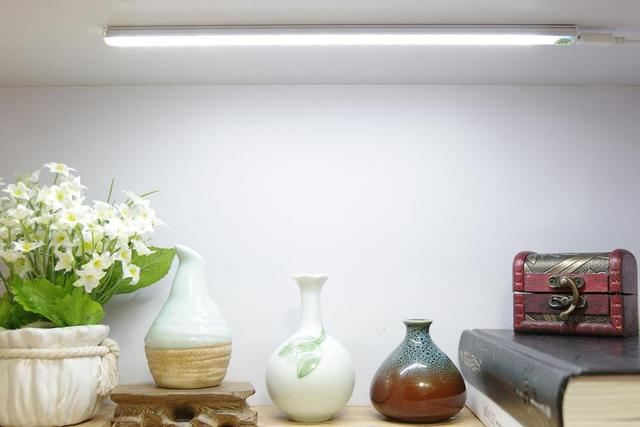LED Under Cabinet Lighting Touch Control Dimmable Under Counter Light  Strips For Kitchen Closet Shelf Wardrobe