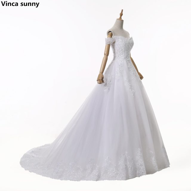 Online Shop Vinca Sunny New 2018 Sweetheart Ball Gowns Wedding
